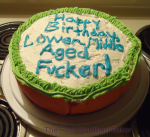 Unicorn Poop Cake