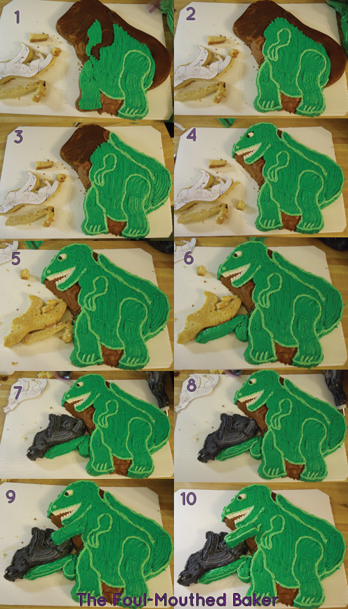 10 steps to T-Rex satisfaction.