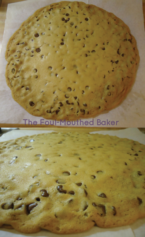 Fully baked big ass cookie!