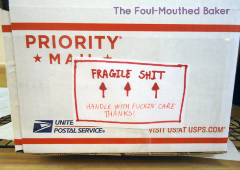 This shit is fragile, yo!